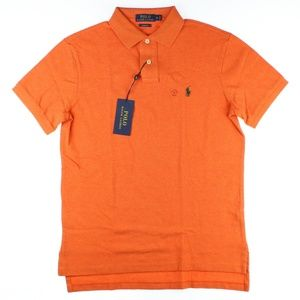 Polo Ralph Lauren Pony Logo Polo T-shirt Orange